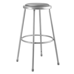 "NPS 30""H Stool with Padded Seat  (National Public Seating NPS-6430)"