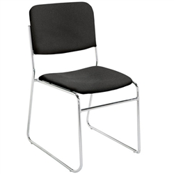 NPS 8600 Signature Fabric Padded Stack Chair  (National Public Seating NPS-8600)