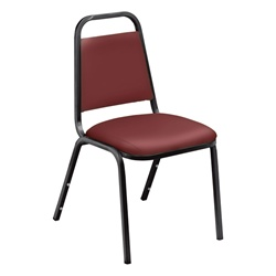 NPS 9100 Standard Vinyl Padded Stack Chair  (National Public Seating NPS-9100)