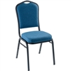 NPS 9350 Silhouette Fabric Padded Stack Chair  (National Public Seating NPS-9350)