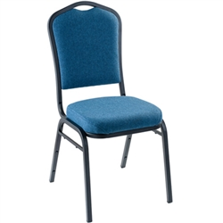 NPS 9350 Silhouette Vinyl Padded Stack Chair  (National Public Seating NPS-9350)
