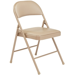 NPS 950 Series Vinyl Upholstered Folding Chair  (NPS Commercial Line NPS-950)