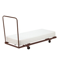 "NPS Folding Table Dolly - Horizontal Storage - Max 72""L  (National Public Seating NPS-DY-3072)"