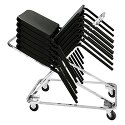 NPS Dolly for 8200 Series Music Chairs  (National Public Seating NPS-DY-82)