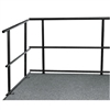 "NPS 36""W Guard Rails for Stages  (National Public Seating NPS-GRS36)"