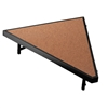 "NPS Stage Pie unit with Hardboard for - 36""W x 8""H - Stage Units  (National Public Seating NPS-SP368HB)"