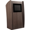 Oklahoma Sound The Vision Lectern with LCD Screen<br> (Oklahoma Sound OKL-612)