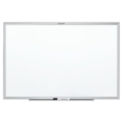 Quartet Standard Magnetic Whiteboard with Aluminum Frame - 3'H x 4'W<br> (Quartet QRT-SM534)