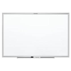 Quartet Standard Magnetic Whiteboard with Aluminum Frame - 4'H x 8'W<br> (Quartet QRT-SM538)