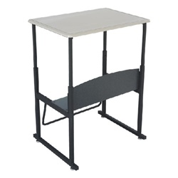 Safco AlphaBetter Stand-Up Desk w/ Book Box - Kydex Top  (Safco SAF-1202)
