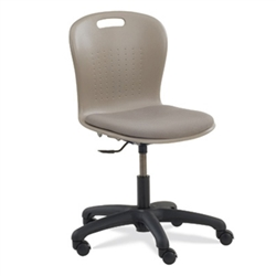"Virco SGTASK18P -  Sage Series Task Chair - 18"" Seat Height with Padded Upholstered Seat Cushion  (Virco SGTASK18P)"