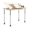 Shain ALTD-1 Adjustable-Height Drawing Table (Shain SHA-ALTD1-6030)
