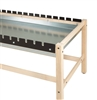 Shain Side Clamp Glue Bench w/ Drip Pan (Shain SHA-GCT-DP)