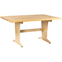 Shain Art/Planning Table w/ Maple Top (Shain SHA-PT-62M)