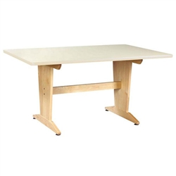 Shain Art/Planning Table w/ Laminate Top (Shain SHA-PT-62P)