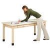 Shain Art Planning Desk w/ Laminate Top (Shain SHA-PT-72P)