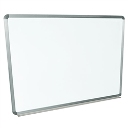 "Schooloutlet Wall-Mounted Whiteboard 48"" x 36"" (Schooloutlet SO-7204-QS)"