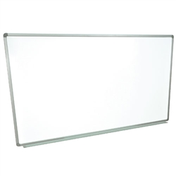 "Schooloutlet Wall-Mounted Whiteboard 96"" x 40"" (Schooloutlet SO-7408-QS)"