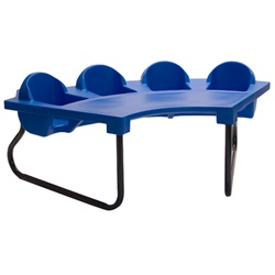 Four-Seat Junior Toddler Table  (Toddler Tables TOD-4JR)