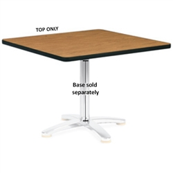 "Virco U3048 - Rectangular 30"" x 48"" cafe top, 1 1/8"" thick high pressure laminate  (Virco U3048)"