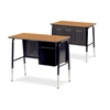"Virco 765-ASAP   - Jr. Executive Desk with Book Shelf, 20"" x 34"" Top  (Virco-765-ASAP)"