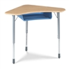 VIRCO ZBOOMBBM Modular Desk W/out Book Box - Hard Plastic Top (VIRCO ZBOOMBBM)