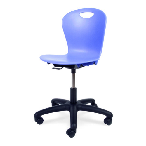 Virco ZTASK18 Zuma Series Mobile Task Chair with Wheels