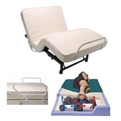 Adjustable Bed w/Alternating Pressure Mattress