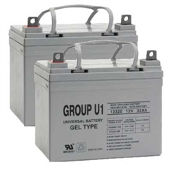 U1 GEL Battery, 32AH