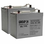GRP24 Wheelchair-Scooter Batteries