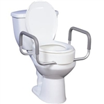 Raised Toilet Seat for Elongated Toilet