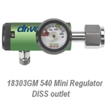 CGA 540 Mini  Regulator