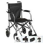 Folding Transport Wheelchair