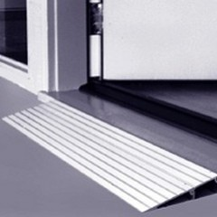 "EZ Access 1"" Threshold Ramp for Wheelchair"