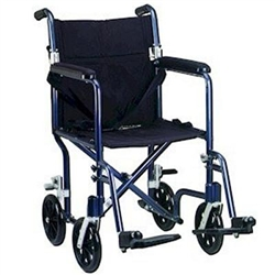 Deluxe Flyweight Transport Wheelchair