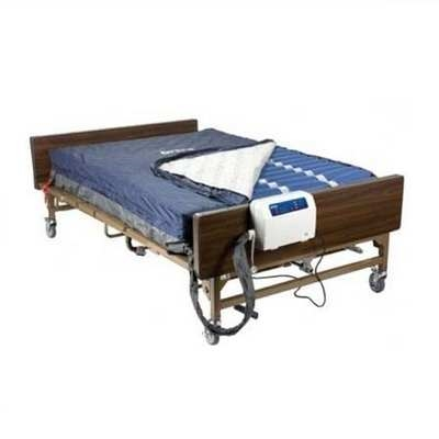 Full Size Mattress Replacement System Full-Size Alternating Pressure  Mattress - Drive Medical Med Aire 14054 Alternating Pressure Mattress
