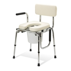Guardian Padded Drop-Arm Commode