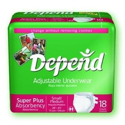 Depend Adjustable Underwear