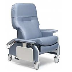 Clinical Care Recliner w/Drop Arm