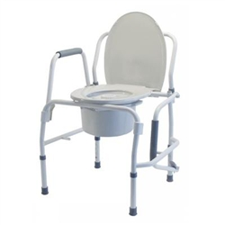 Lumex Drop Arm Commode