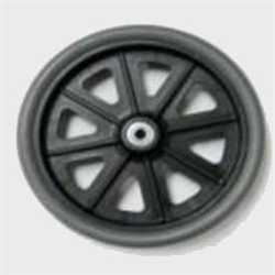 "Nova 4212 Rollator Parts, 8"" Replacement wheel"