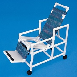 PVC Tilt Commode Chair