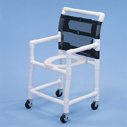 PVC Commode Chair