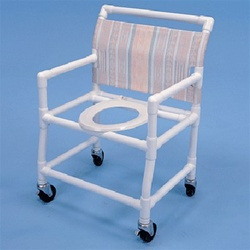 PVC Shower Commode Chair
