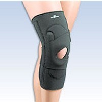 "Lateral Knee Stabilizer with ""J"" Shaped Buttress model 37-250"