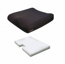 Memory-Foam Wheelchair Cushion