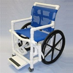 PVC Shower Wheelchair