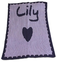 Personalized Heart Blanket
