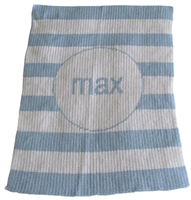 Personalized Blanket Stripes