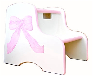 Bow Two Step Stool